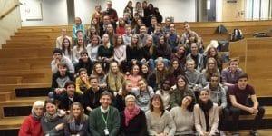 Erasmus+: MPG-Schülerinnen und Schüler an der Rosenborgskole in Trondheim