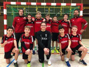 Handball Schülermannschaft für Hessenmeisterschaft qualifiziert