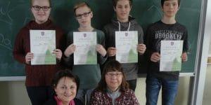 Mathematikwettbewerb 2017 der 8. Klassen