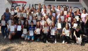 Die Schulgemeinde des Max-Planck-Gymnasiums gratuliert den erfolgreichen Business English Absolventen