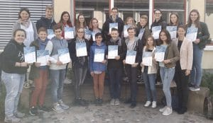 """Europass """"Mobilität"""" für engagierte Projektarbeit im Erasmus-Projekt 2015-17"""