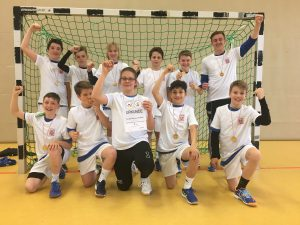 Handball Schülermannschaft ist Hessenmeister