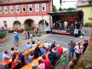 MPG-BigBand Auftritt in Kleestadt