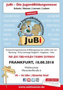 JuBi – Die JugendBildungsmesse 2018
